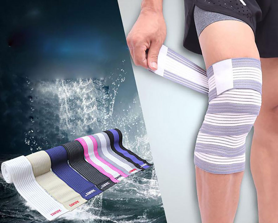 Dây cuốn chân giúp bảo vệ đầu gối hiệu quả