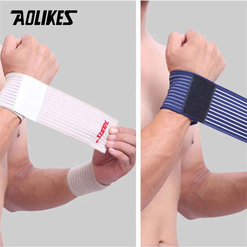 Băng cuốn bảo vệ cổ tay Aolikes AL1526 là mẫu băng cuốn giá rẻ được nhiều người ưu chuộng hiện nay