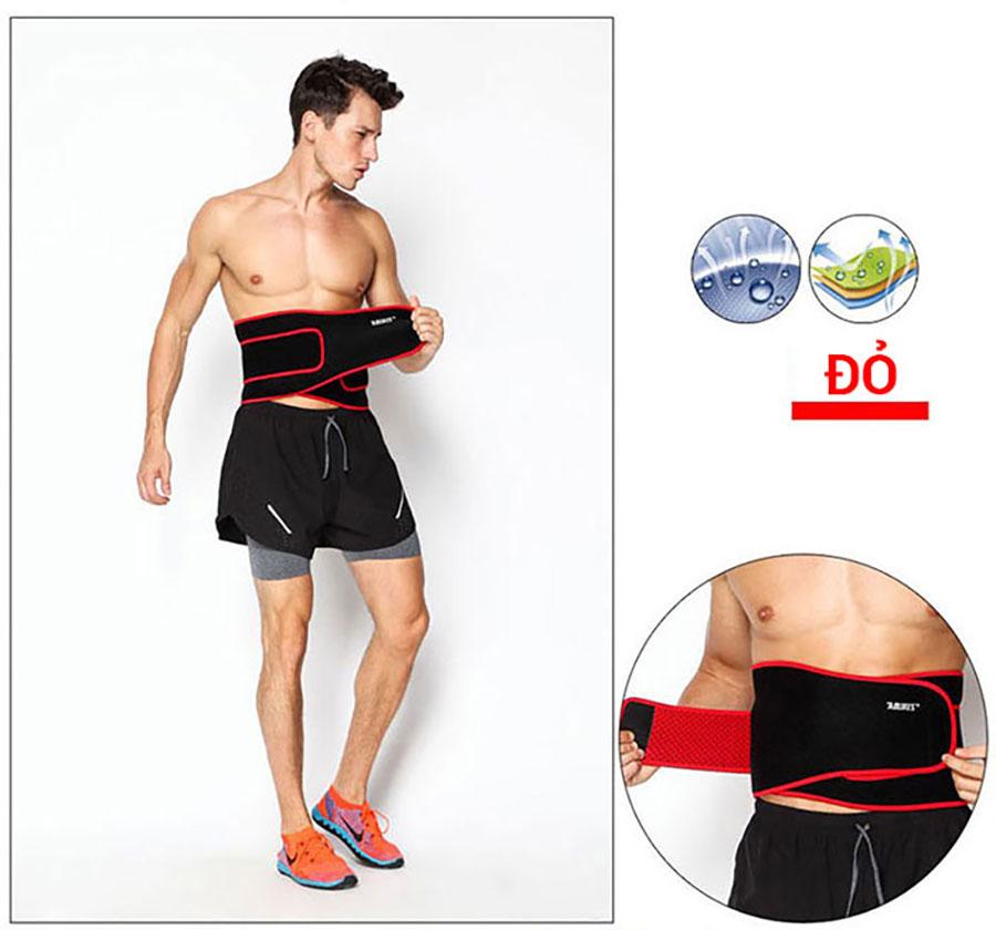 Sử dụng đai lưng bụng hiệu quả sẽ giúp săn chắc cơ bắp