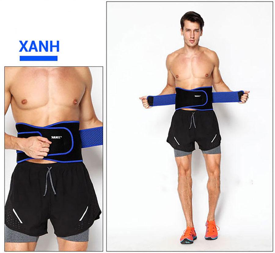 Cần đặt đúng vị trí và chọn kích thước phù hợp với cơ thể, tránh gây lỏng lẻo trong quá trình tập