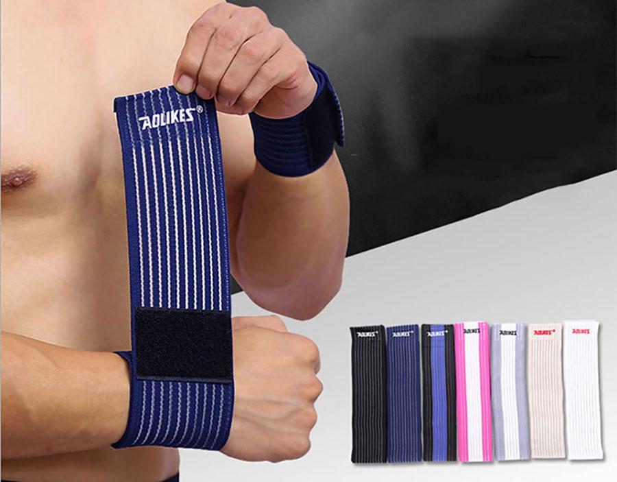 Băng cuốn bảo vệ cổ tay Aolikes là dụng cụ chuyên dụng để bảo vệ cổ tay