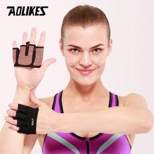 Bộ đôi găng tay xỏ ngón Silicon chống trượt Aolikes AL111