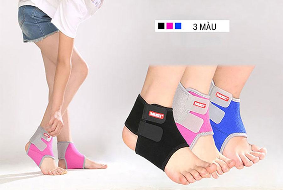 Băng cuốn bảo vệ mắt cá chân, cổ chân được thiết kế quấn quanh dễ sử dụng