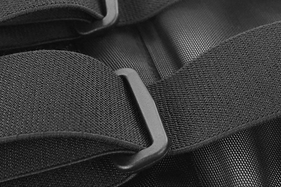 Đai khóa tăng chỉnh độ dài dây co giãn phù hợp với kích thước lưng người dùng