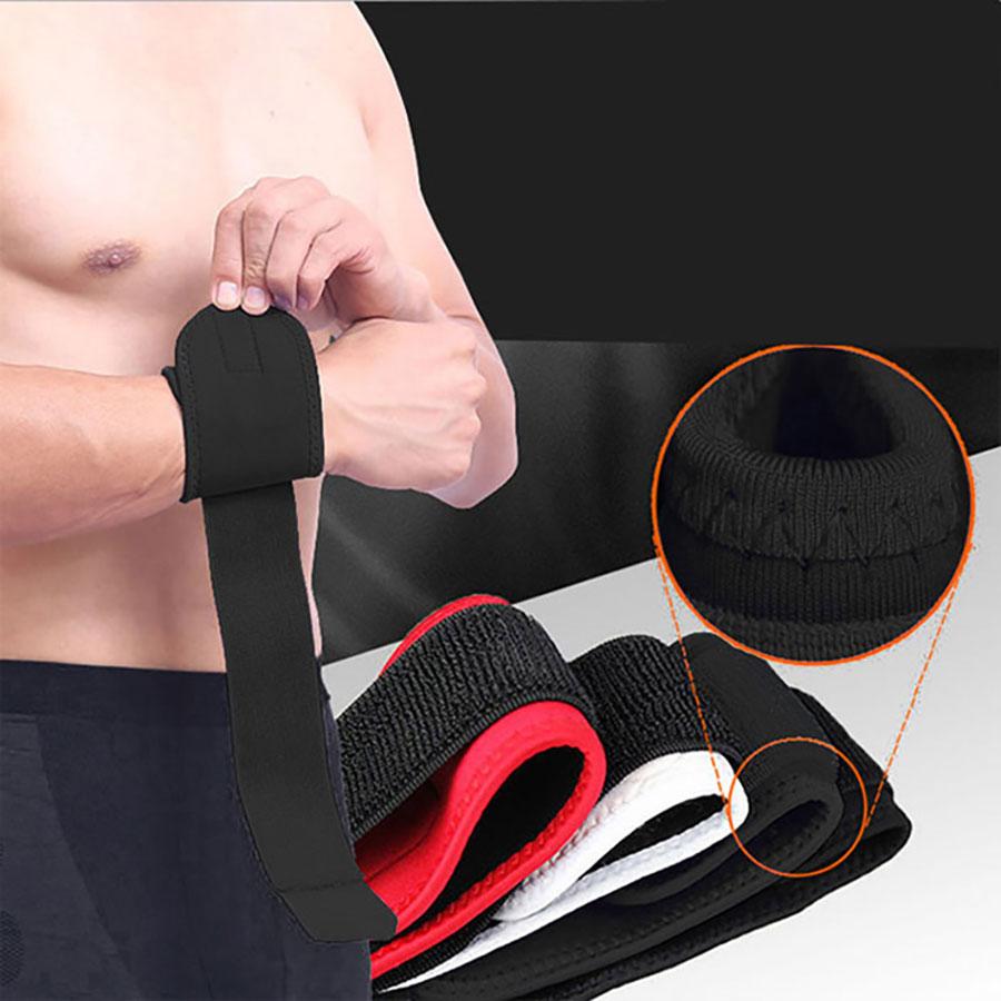 Không nên ép chặt đay đai cổ tay quá gây khó khăn khi tập