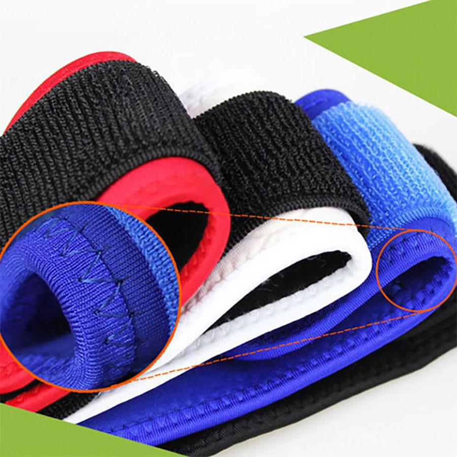 Thiết kế dây cuốn bảo vệ cổ tay 2 lớp quấn tay đảm bảo cố định hoàn toàn