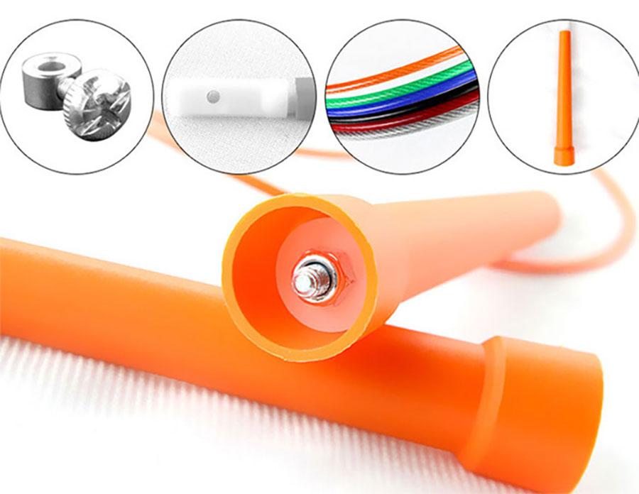 Dây nhảy PVC có tính năng kháng nước, cách điện, có độ bền cao
