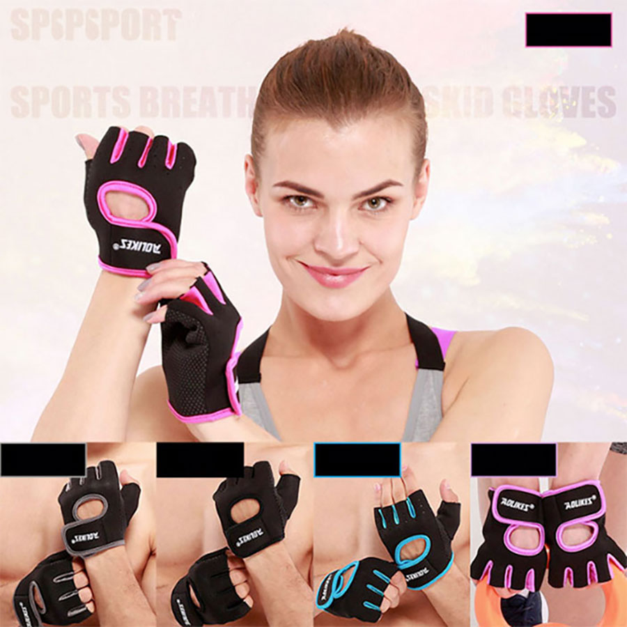 Găng tay tập gym có nhiều màu sắc khác nhau