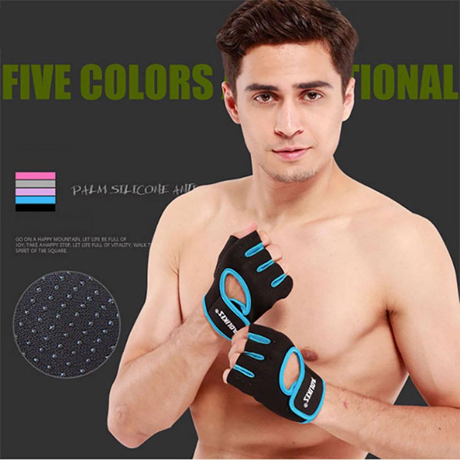 Găng tay Aolikes AL1678 màu xanh cá tính
