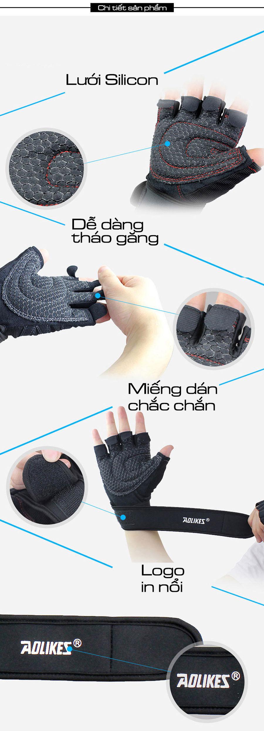 Thiết kế dạng nửa ngón, tiện lợi cầm nắm, dễ sử dụng
