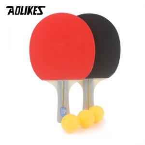 Bộ 2 vợt bóng bàn chính hãng Aolikes tặng kèm 3 bóng cao cấp