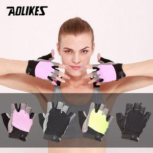 Bộ đôi găng tay thể thao thoáng khí Aolikes AL110 (1 đôi)