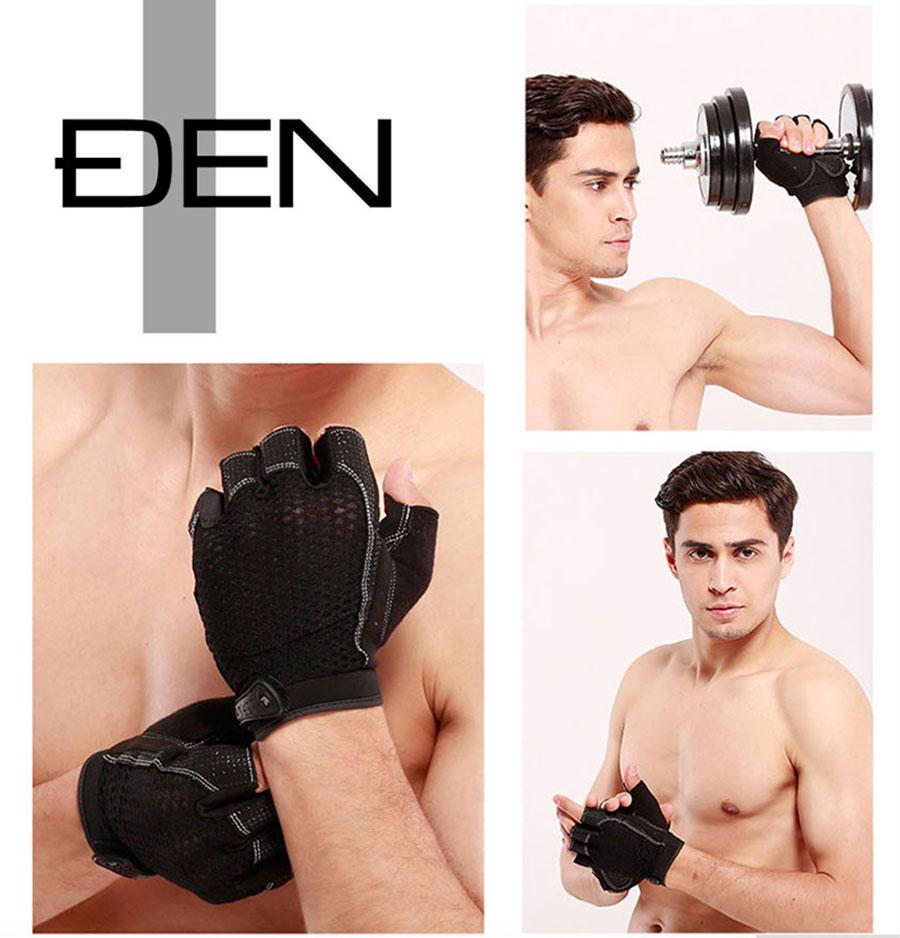 Găng tay nửa ngón, vừa đảm bảo an toàn đôi tay khi chơi thể thao mà vẫn cử động linh hoạt