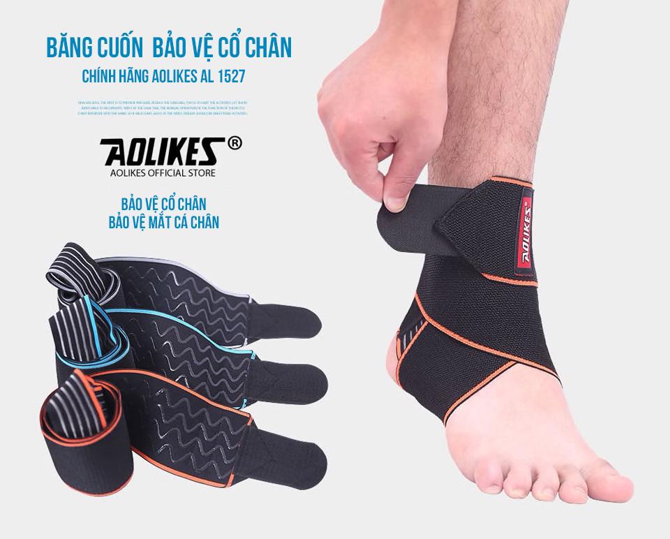 Băng cuốn bảo vệ cổ chân Aolikes AL1527