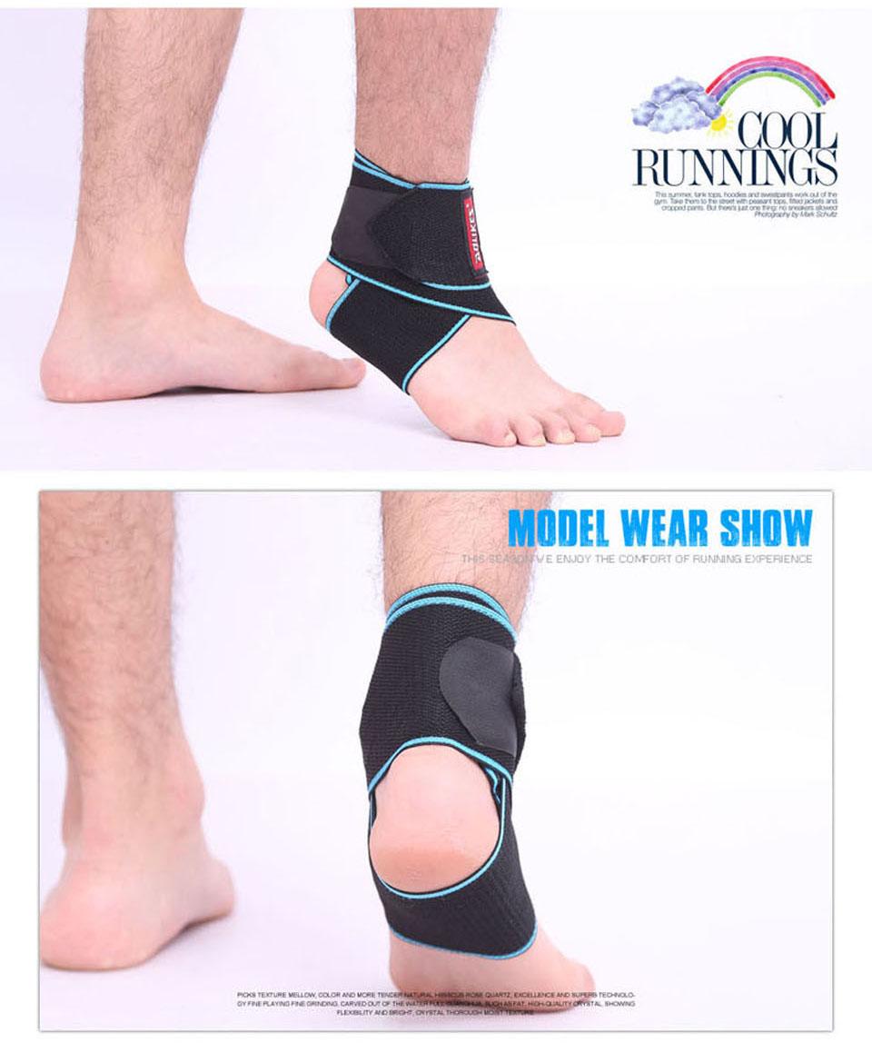 Đai bảo vệ cố chân phù hợp với mọi kích thước chân