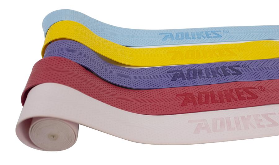 Mỗi sản phẩm cuốn cán vợt đều được in logo Aolikes chính hãng