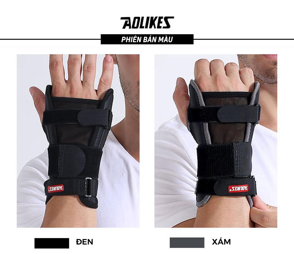 Cuốn bảo vệ cổ tay Aolikes AL1680 Có 2 màu đen, xám cho bạn lựa chọn