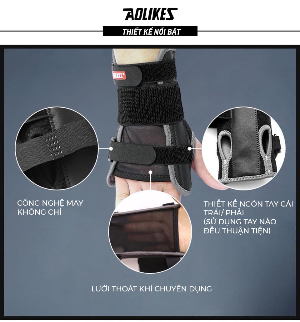 Sản phẩm băng đeo cổ tay đang được yêu thích nhất của thương hiệu Aolikes