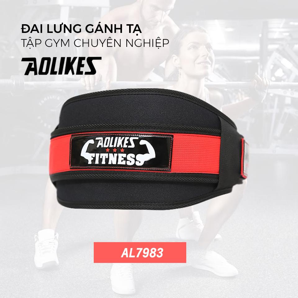 Đai lưng gánh tạ được thiết kế riêng cho những người tập gym
