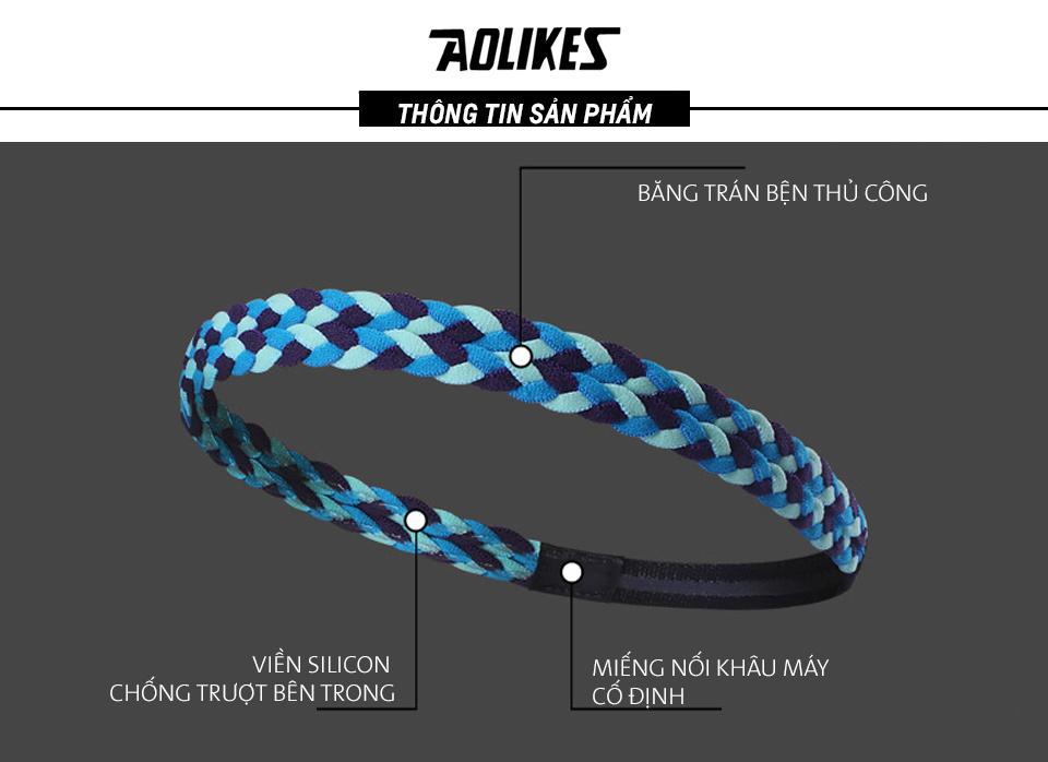 Chi tiết thiết kế băng đô đeo đầu của Aolikes