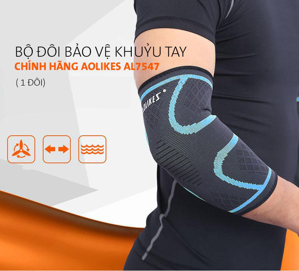 Sản phẩm bảo vệ khuỷu tay được phân phối bởi Aolikes Việt Nam