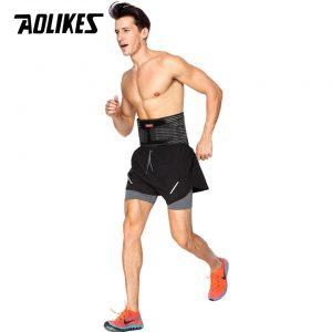 Đai lưng tập gym có nẹp thép cao cấp Aolikes AL7996