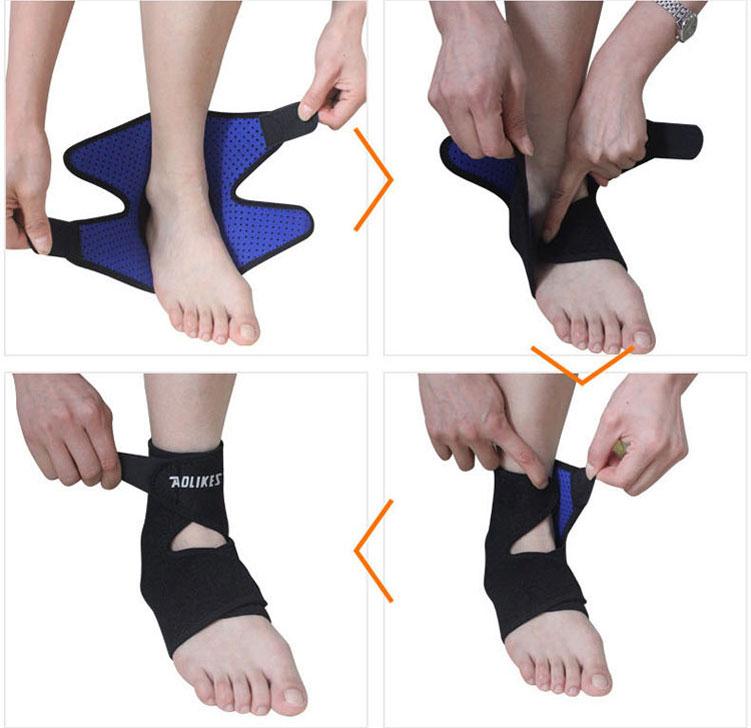 Cách quấn băng quấn cổ chân Aolikes AL4546
