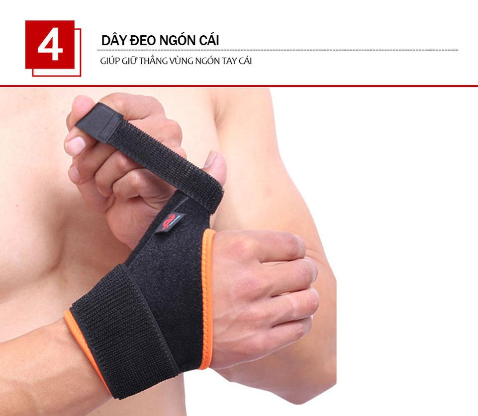Dây đeo giúp giữ thẳng ngón cái trợ lực