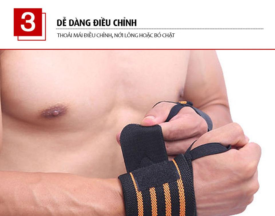 Miếng dán giúp dễ dàng điều chỉnh phù hợp với cổ tay