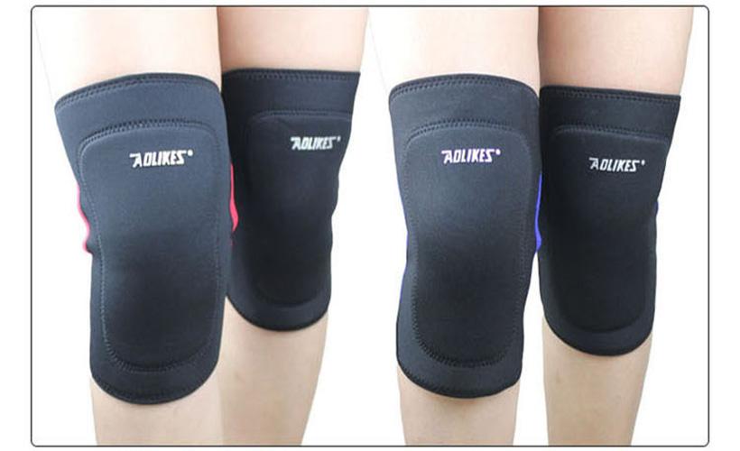 Bộ đôi bó gối thể thao Aolikes AL614 bảo vệ đầu gối hoàn hảo