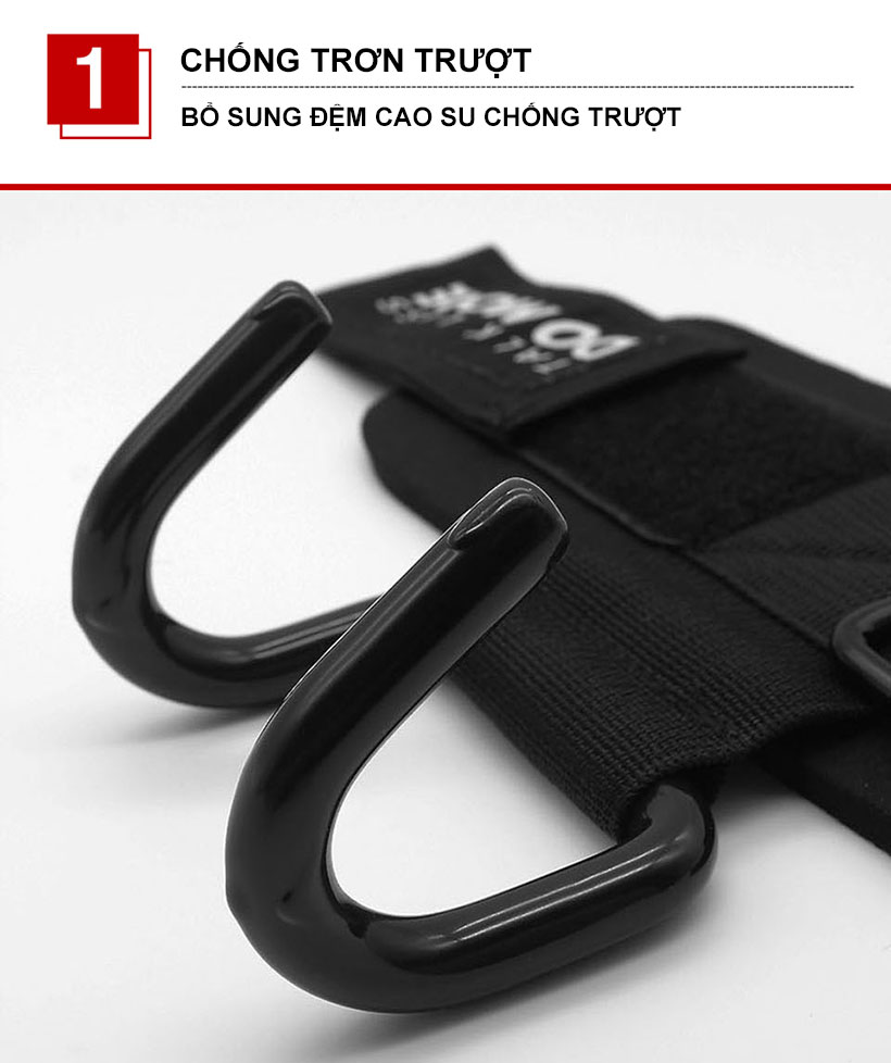 Cuốn trợ lực thiết kế mới của Aolikes bổ sung thêm đệm cao su chống trượt