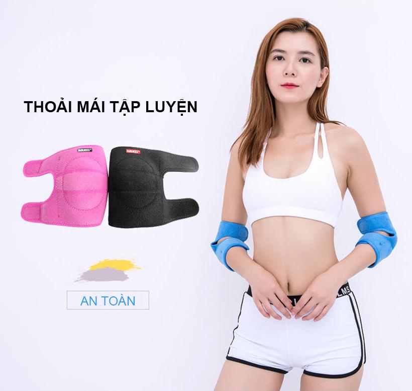 Đai bảo vệ giúp bạn thoải mái hoạt động mạnh