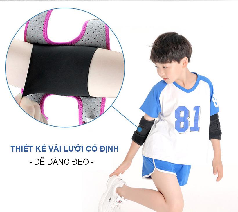 Đai bảo vệ khuỷu tay vừa với cả tay trẻ em