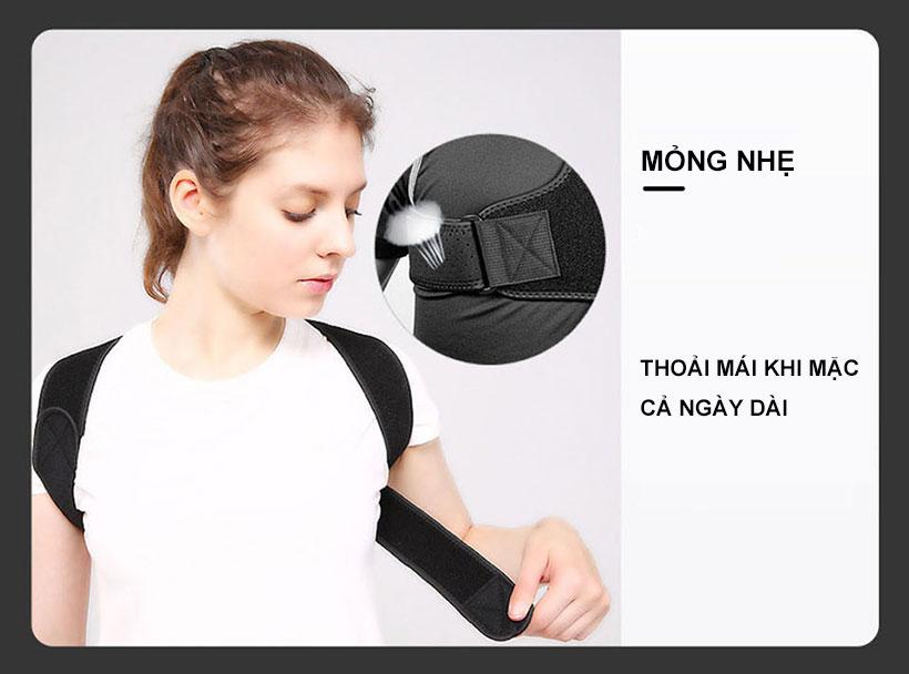 Những lỗ nhỏ li ti trên đai chống gù lưng dùng để thoát khí