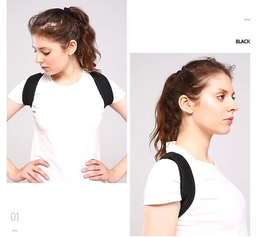 Đai đeo thẳng lưng Aolikes AL3103 màu đen