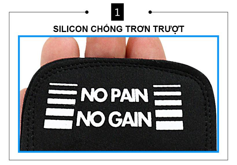 Bổ sung thêm silicone chống trơn trượt