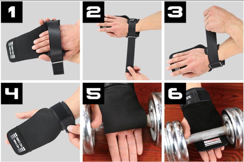 Hướng dẫn sử dụng găng bảo vệ lòng bàn tay