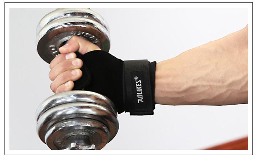 Găng bảo vệ lòng bàn tay để trống trầy xước