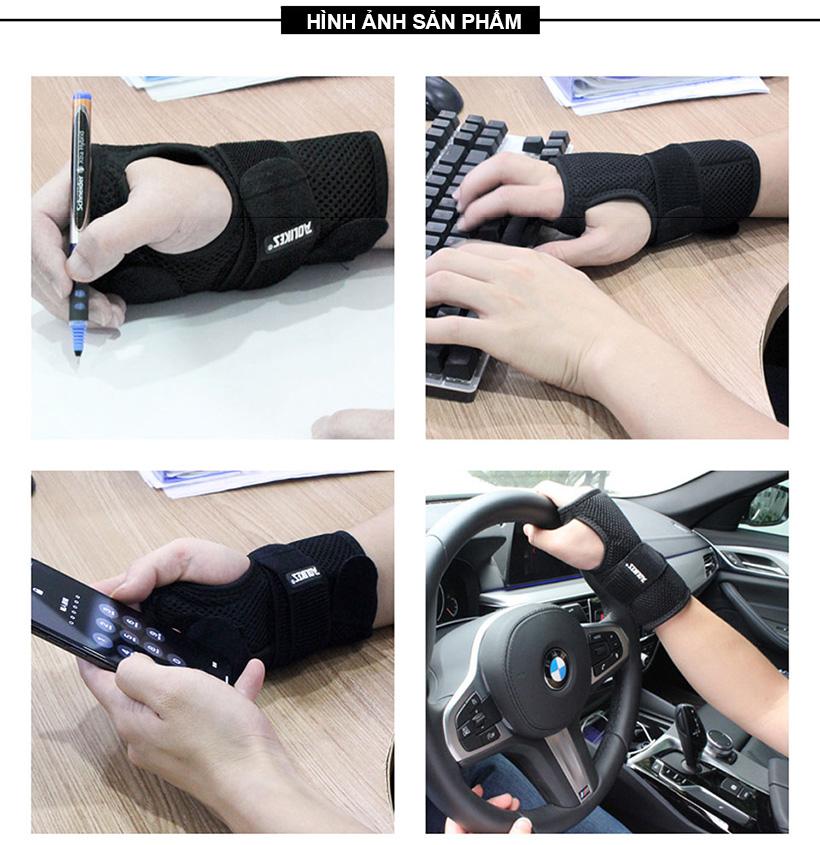 Nẹp bảo vệ và cố định khớp cổ tay Aolikes AL1672