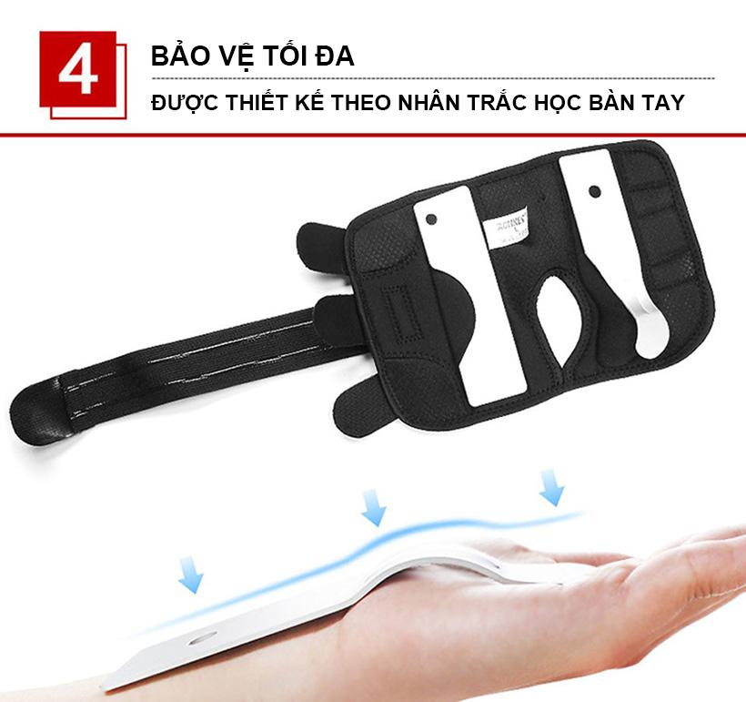 Nẹp bảo vệ cổ tay Aolikes AL1672 bảo vệ toàn diện cổ tay