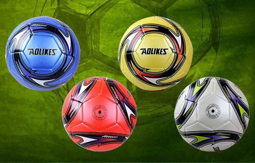 Quả bóng có nhiều màu sắc cho bạn lựa chọn