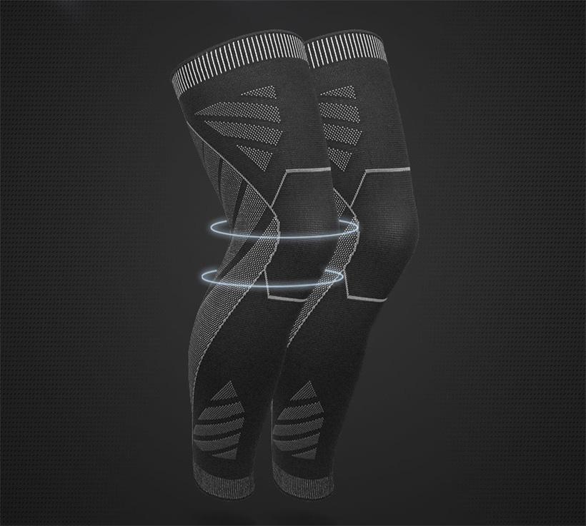 Đai bó ống chân bảo vệ toàn diện khớp đầu gối và xương bánh chè