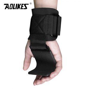 Dây cuốn cổ tay có móc nâng tạ Aolikes AL7643