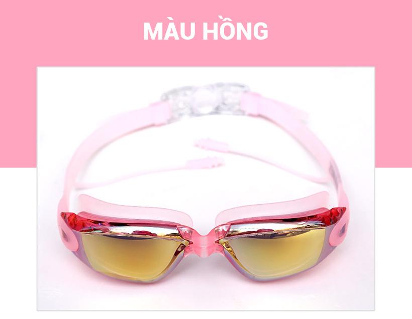 Kính bơi Aolikes AL5005 màu hồng