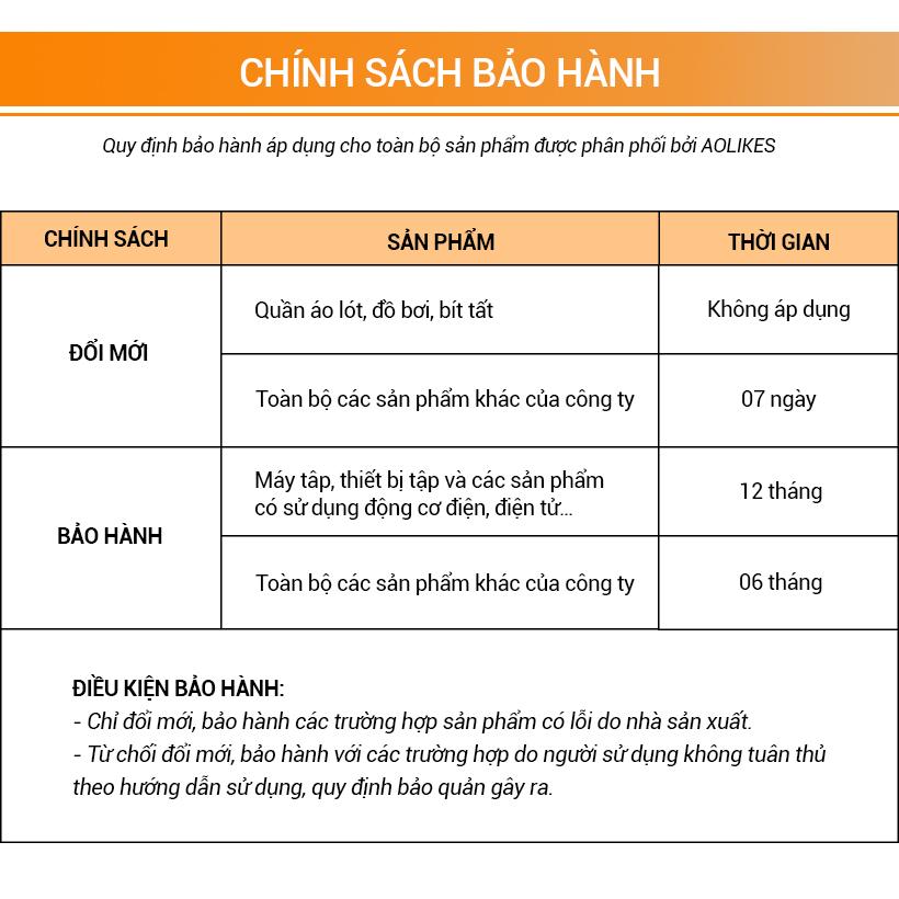 Chính sách bảo hành của Aolikes Việt Nam