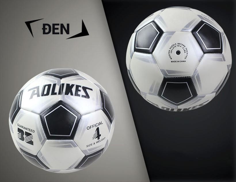 Quả bóng đá số 4 Aolikes AL606 màu đen