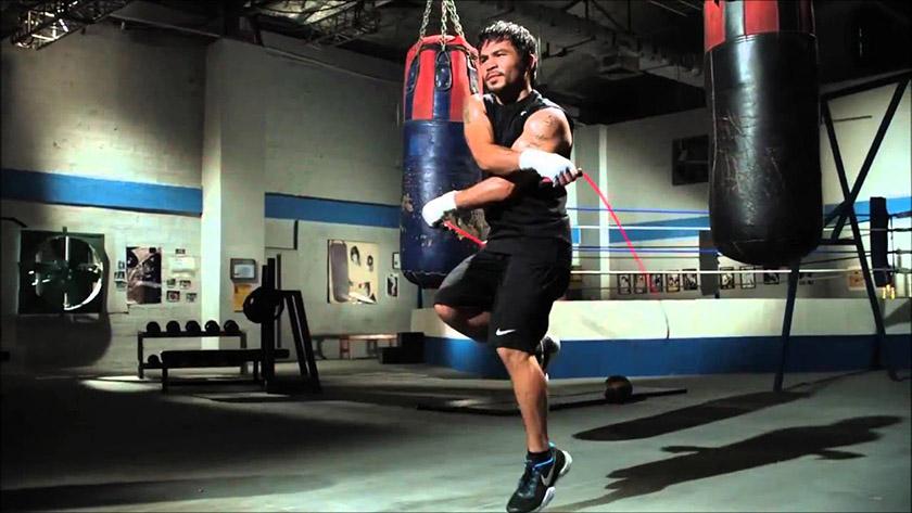 Nhảy co 1 chân lên là cách nhảy dây thu nhỏ bắp chân hiệu quả