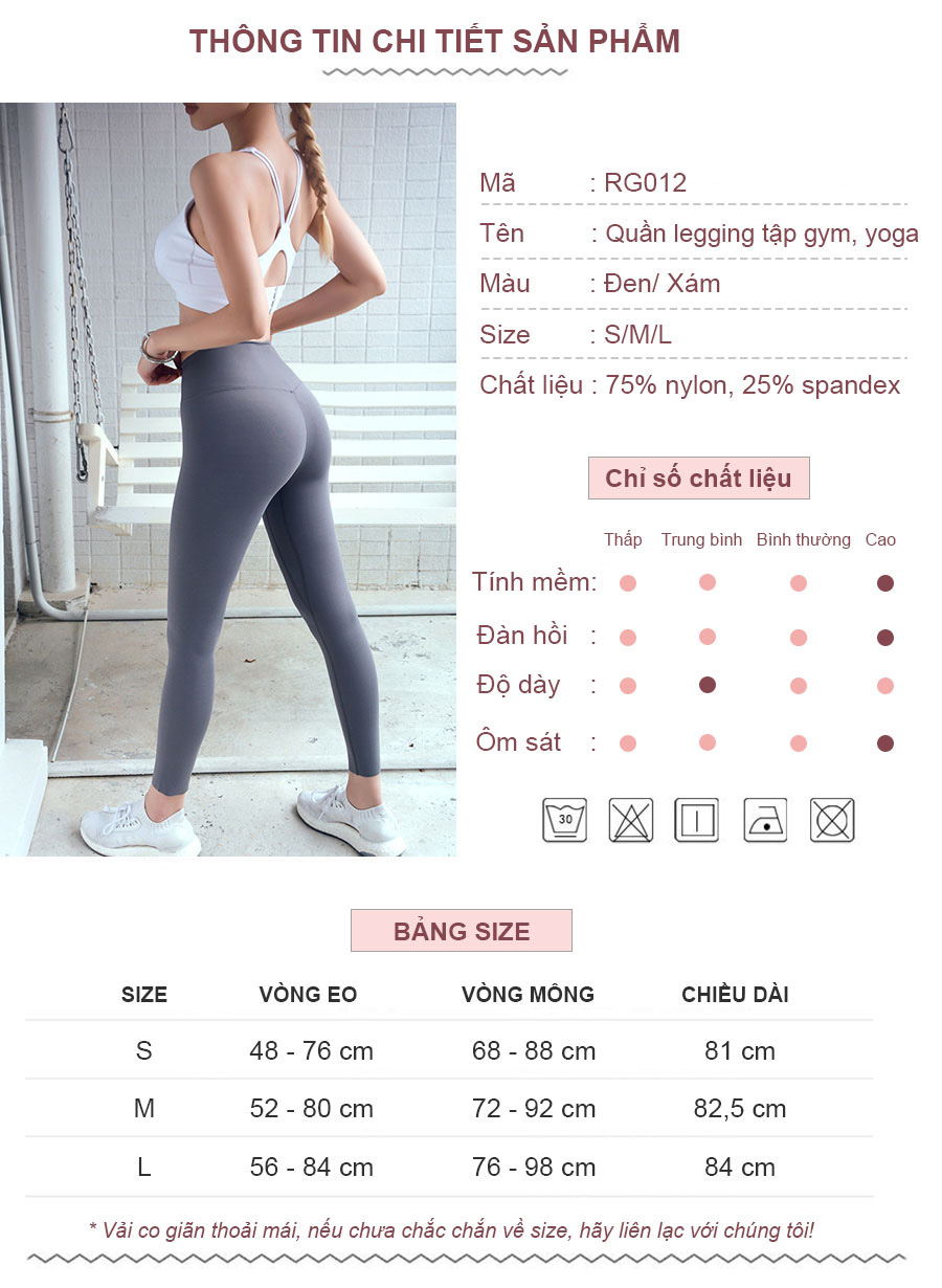 Quần legging thể thao nữ