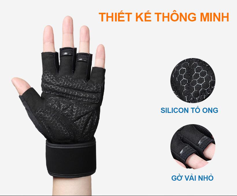 Găng tay được thiết kế thông minh