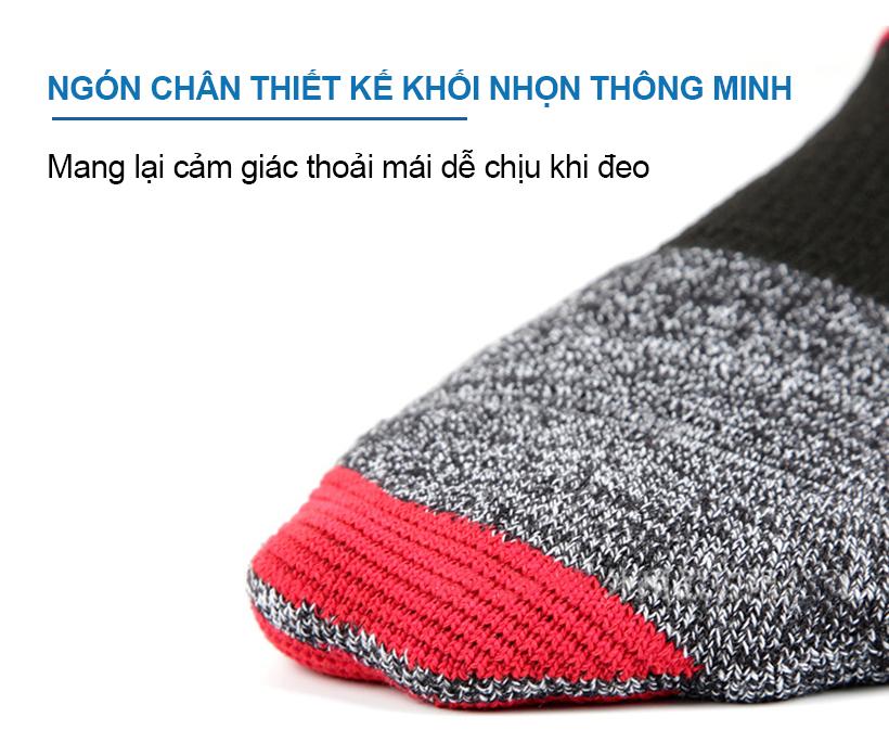 Ngón chân được thiết kế thông minh